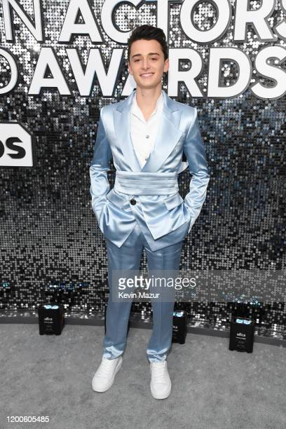 Noah Schnapp attends the 26th Annual Screen Actors Guild Awards at The Shrine Auditorium on January 19 2020 in Los Angeles California 721336