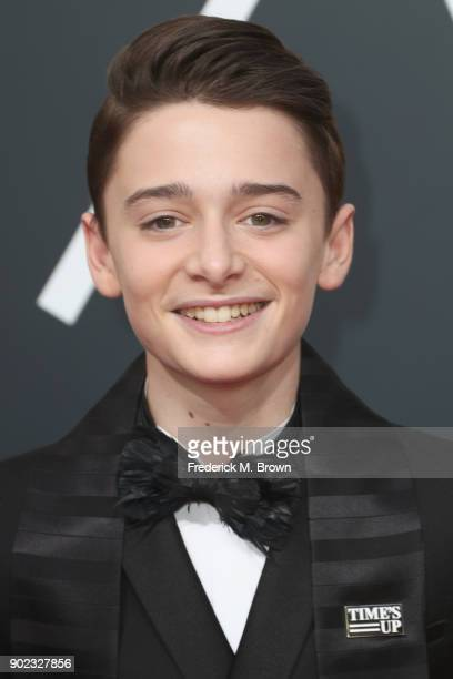 Noah Schnapp attends The 75th Annual Golden Globe Awards at The Beverly Hilton Hotel on January 7 2018 in Beverly Hills California