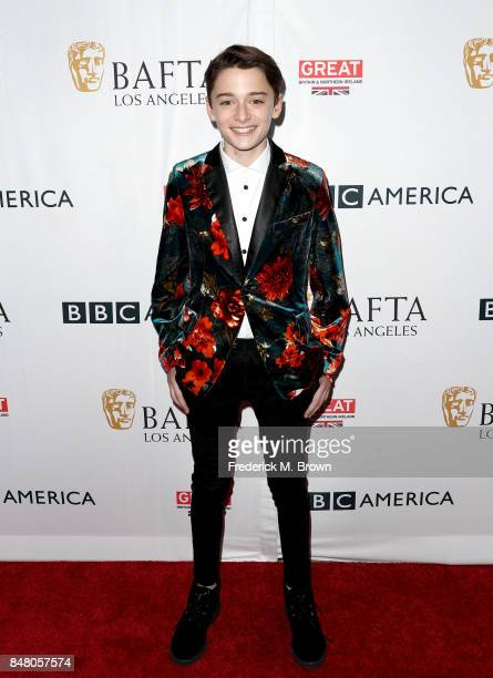 Noah Schnapp attends the BBC America BAFTA Los Angeles TV Tea Party 2017 at The Beverly Hilton Hotel on September 16 2017 in Beverly Hills California