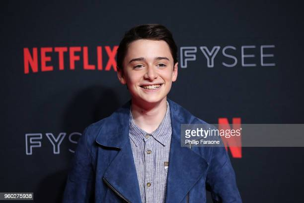 Noah Schnapp attends the #NETFLIXFYSEE For Your Consideration 'Stranger Things' Event at Netflix FYSEE At Raleigh Studios on May 19 2018 in Los...