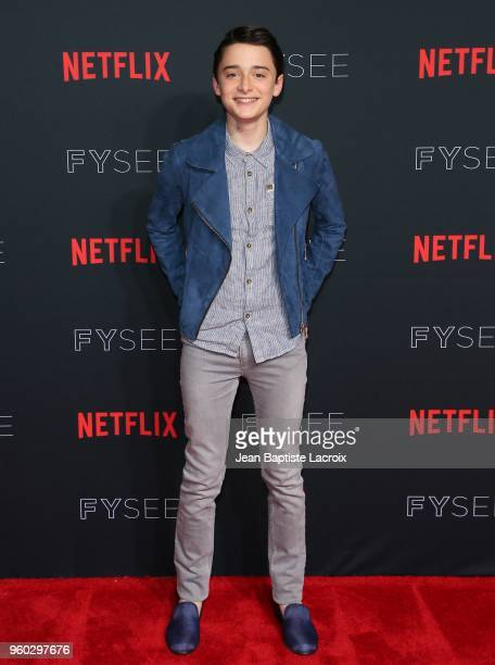 Noah Schnapp attends the #NETFLIXFYSEE For Your Consideration Stranger Things Event on May 19 2018 in Hollywood California