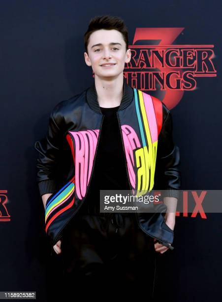 Noah Schnapp attends the premiere of Netflix's Stranger Things Season 3 on June 28 2019 in Santa Monica California