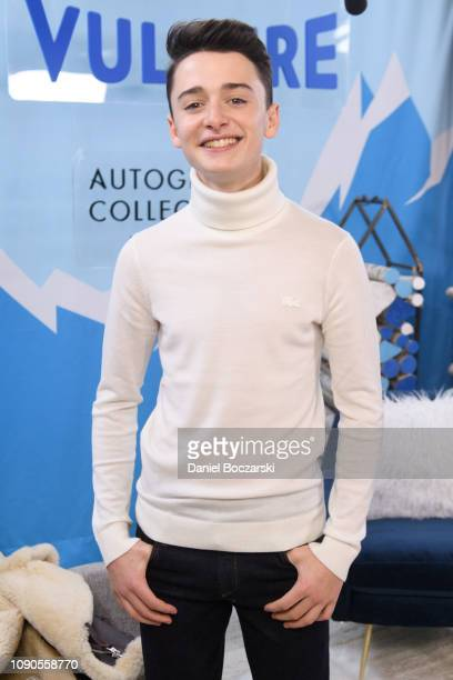 Noah Schnapp attends the Vulture Spot during Sundance Film Festival on January 27 2019 in Park City Utah