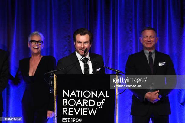 Noah Segan speaks onstage The National Board of Review Annual Awards Gala at Cipriani 42nd Street on January 08 2020 in New York City