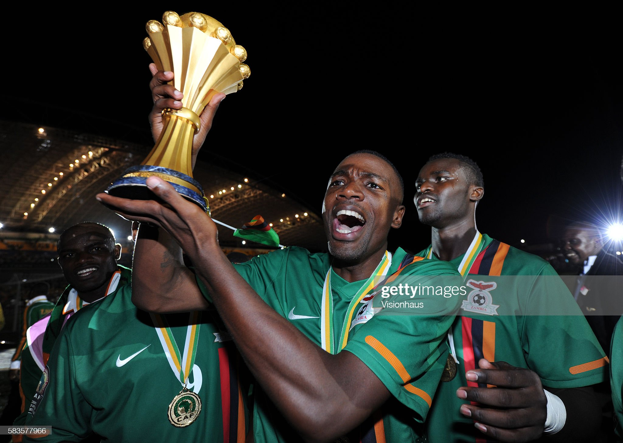 Soccer : 2012 Africa Cup of Nations Final - Zambia vs. Ivory Coast : News Photo