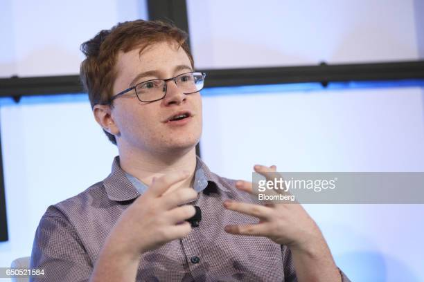 Noah Whinston chief executive officer of Immortals speaks during the Montgomery Summit in Santa Monica California US on Thursday March 9 2017 The...