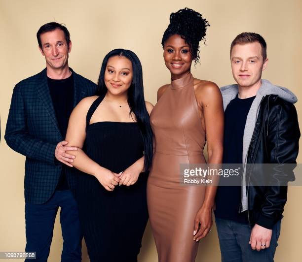 Noah Wyle Aliyah Royale Emayatzy Corinealdi and Noel Fisher of CBS's 'The Red Line' pose for a portrait during the 2019 Winter TCA Getty Images...