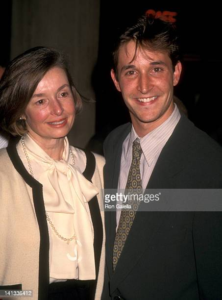 Noah Wyle and mother Marjorie Katz at the 38th Anniversary Premiere of 'Vertigo'-West Coast Premiere, Cineplex Odeon Cinemas, Century City.