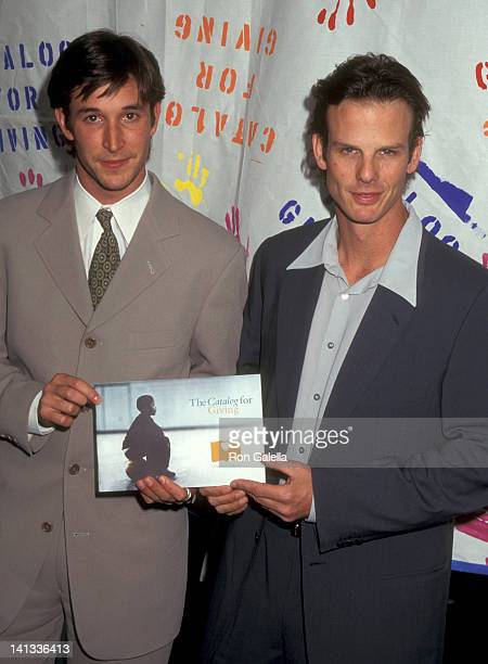 Noah Wyle and Peter Berg at the Catalog for Giving Benefit Children of NYC, Tavern on the Green, New York City.