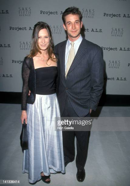 Noah Wyle and Tracy Warbin at the 1st Annual Project A.L.S. Benefit Gala, Raleigh Studios, Hollywood.