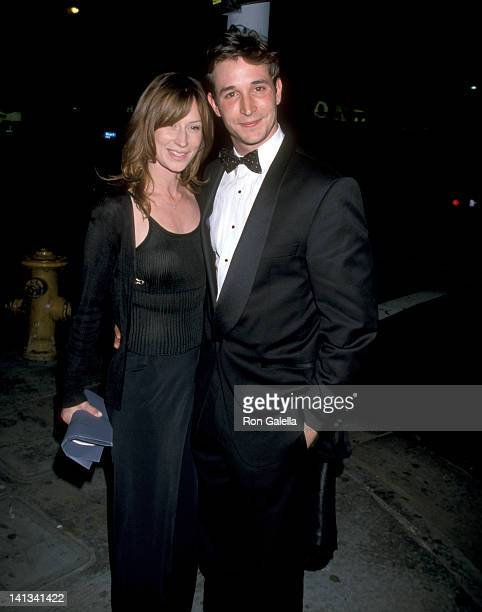 Noah Wyle and Tracy Warbin at the Opening Night of 'Hello Again' Blank Theatre Hollywood