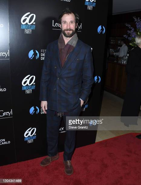 Noah Wyle arrives at the HSH Prince Albert II Of Monaco Hosts 60th Anniversary Party For The Monte-Carlo TV Festival at Sunset Tower Hotel on...