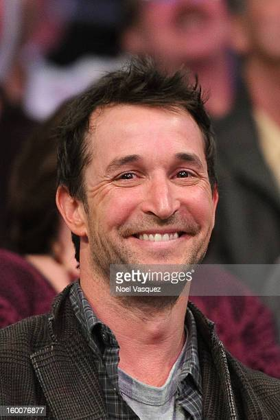 Noah Wyle attends a basketball game between the Utah Jazz and the Los Angeles Lakers at Staples Center on January 25 2013 in Los Angeles California