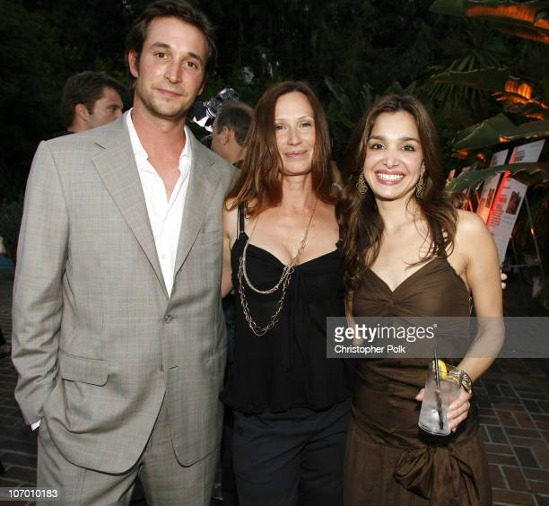 Noah Wyle Tracy Warbin and Gina Philips **EXCLUSIVE**