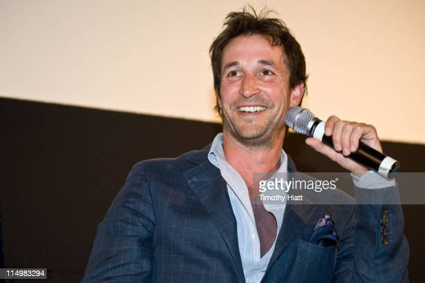 """Noah Wylie attends the screening of """"Falling Skies"""" at Kerasotes Showplace ICON on May 31, 2011 in Chicago, Illinois."""