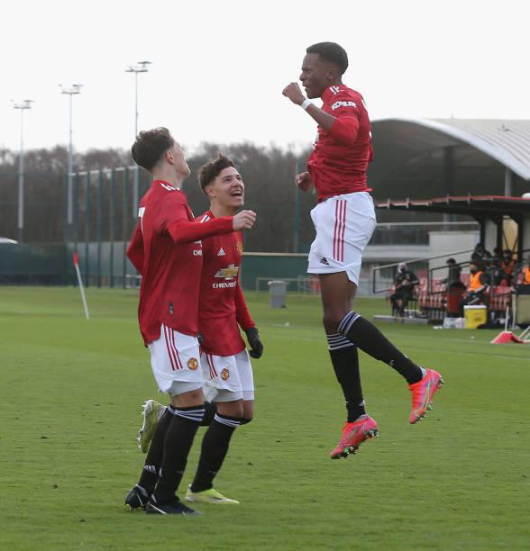 GBR: Manchester United v Sunderland: U18 Premier League