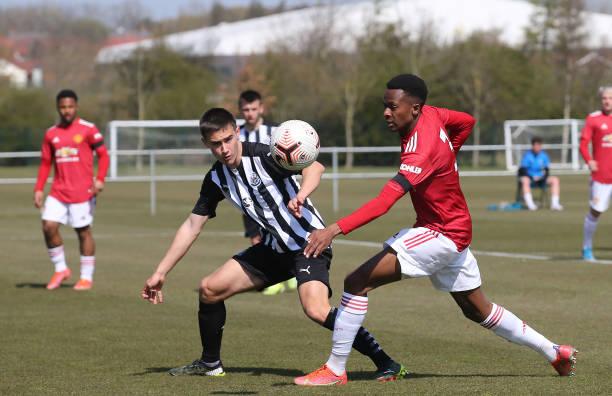 GBR: Newcastle United v Manchester United: U18 Premier League