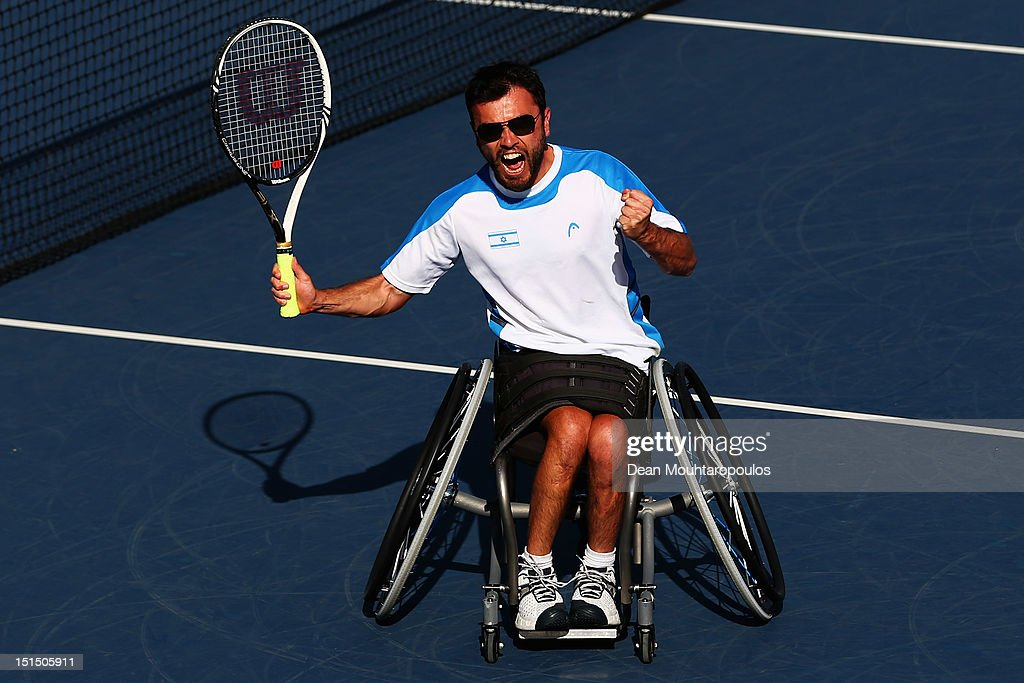 2012 London Paralympics - Day 10 - Wheelchair Tennis : News Photo