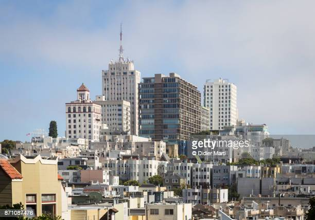 Nob Hill, a luxury residential district in the heart of San Francisco