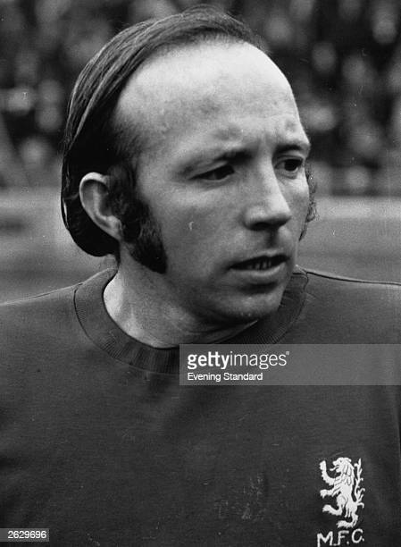 Nobby Stiles of Middlesbrough FC.