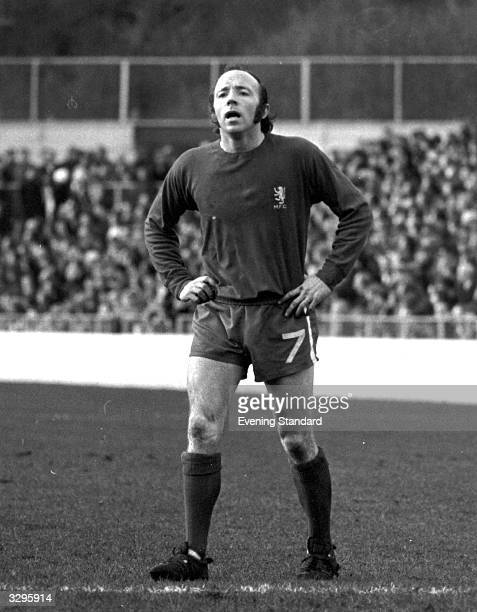 Nobby Stiles playing for Middlesbrough Football Club.