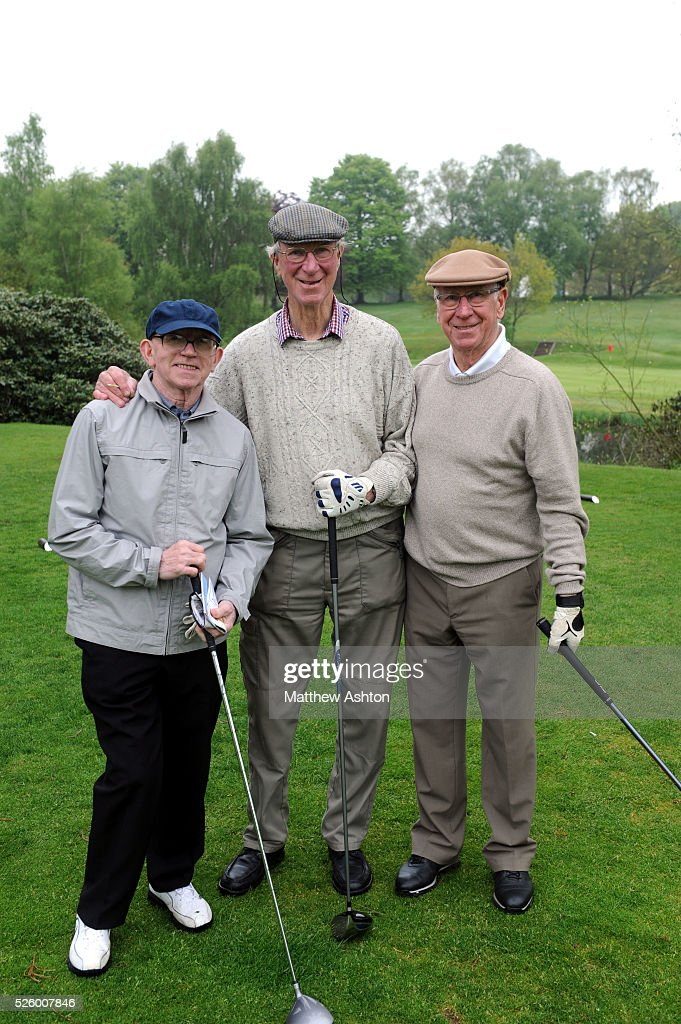 Soccer : Brocton Hall Golf Course - 1966 World Cup Squad re-united : News Photo