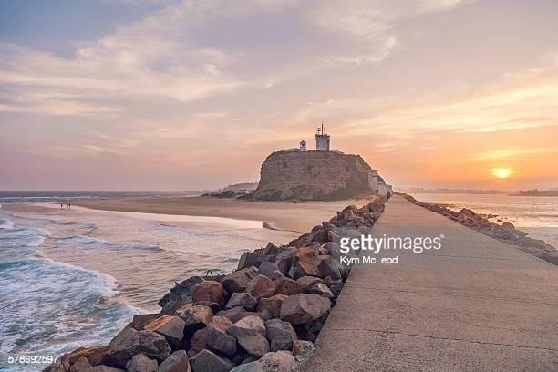 Nobbys Beach Lighthouse