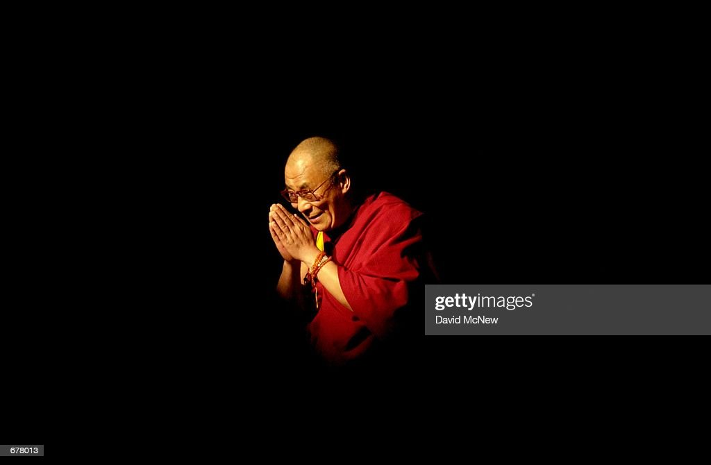 Dalai Lama at UCLA : News Photo