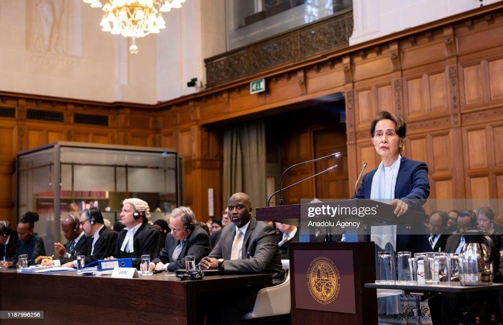 Nobel laureate Suu Kyi defends genocide accusations : News Photo