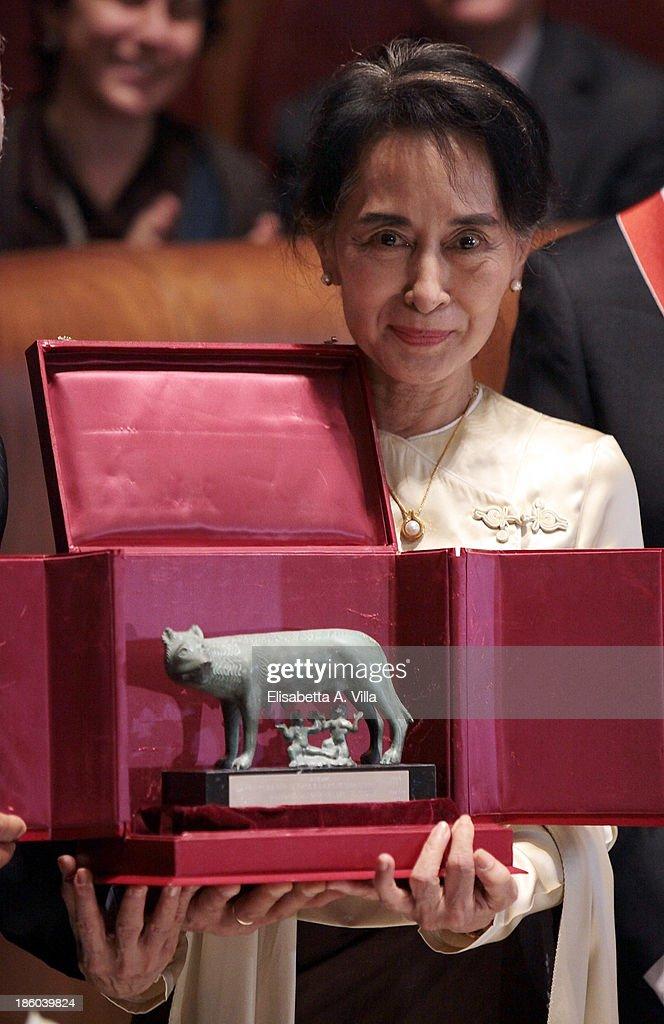 Aung San Suu Kyi Visits Italy
