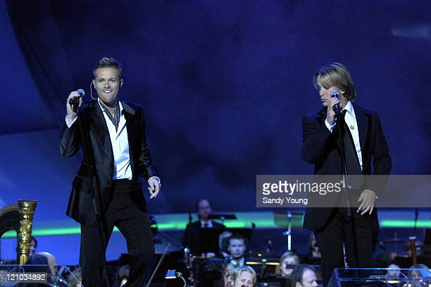 Nobel Peace Prize Awards concert at the Oslo Spektrum in Oslo Norway Pictured on stage Westlife