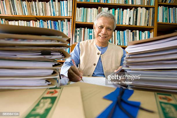 Nobel Peace Prize laureate Muhammad Yunus Muhammad Yunus banker and economist is the founder and managing director of Grameen Bank and made a...