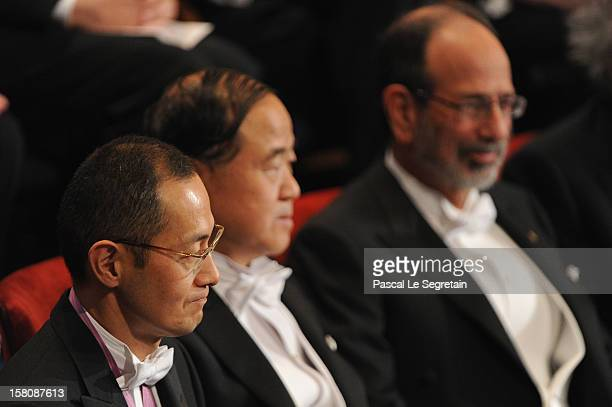 Nobel Prize in Medicine laureate Professor Shinya Yamanaka of Japan Nobel Prize in Literature laureate author Mo Yan of China and Nobel Prize in...