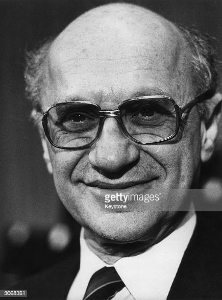 Nobel Prize Laureate for economics, Professor Milton Friedman.