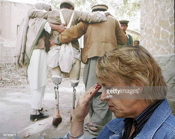Nobel Prize laureate Jody Williams of USA attends Oslo Landmine Week conference 17 September 2007 on the occasion of the 10th anniversary of key...