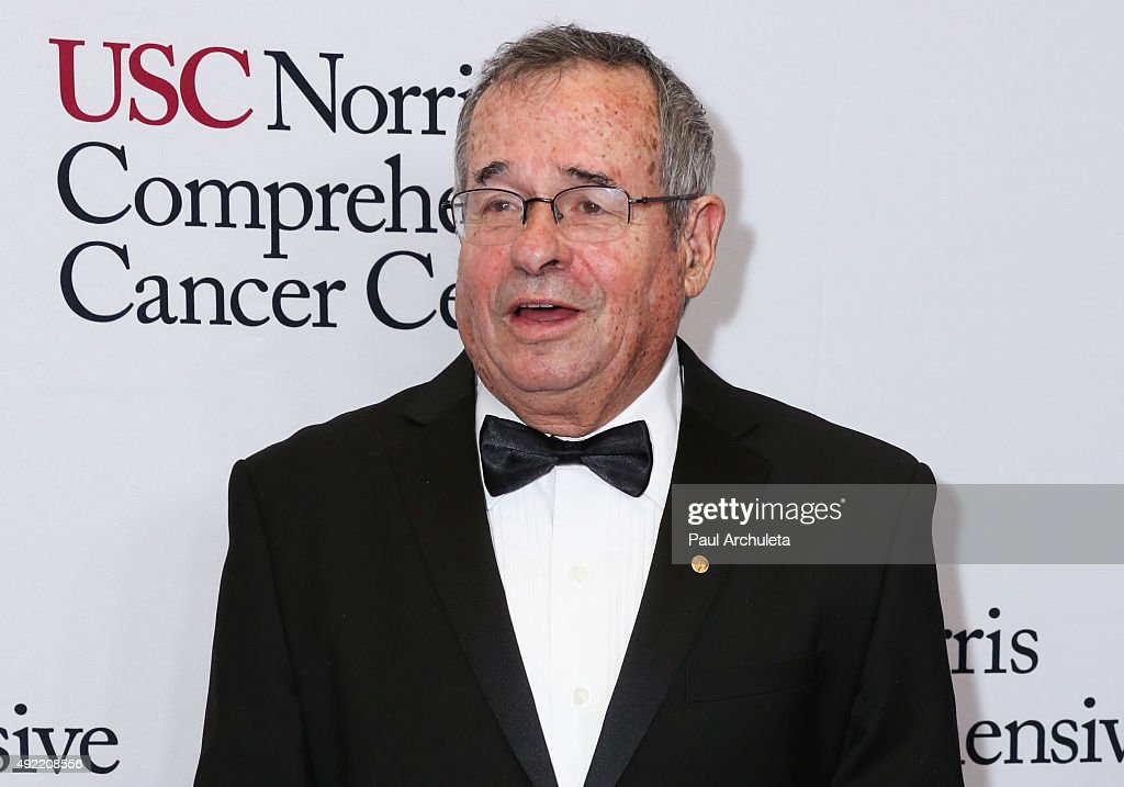 Nobel Prize Winner Arieh Warshel attends the USC Norris Cancer Center Gala at the Beverly Wilshire Four Seasons Hotel on October 10, 2015 in Beverly Hills, California.