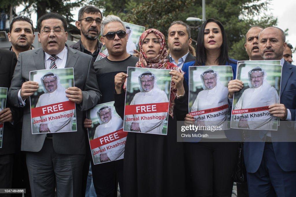 Fears Grow Over Fate of Missing Journalist Jamal Khashoggi : Fotografía de noticias