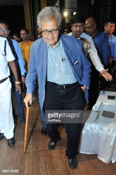 Nobel Prize Winning Eminent economist Prof Amartya Sen at the his write new Book release quotHealers or Predators healthcare Corruption in India quot...
