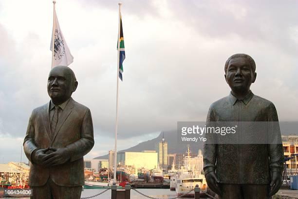 CONTENT] Nobel Square is a tribute to South Africa's 4 Nobel Peace Prize laureates Nkosi Albert Luthuli Archbishop Emeritus Desmond Tutu former...