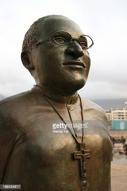Nobel Square is a tribute to South Africa's 4 Nobel Peace Prize laureates - Nkosi Albert Luthuli, Archbishop Emeritus Desmond Tutu, former President...