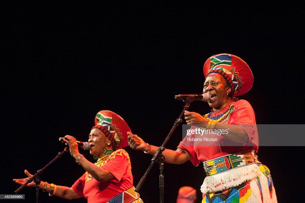 Mandela Day Concert At Edinburgh Jazz & Blues Festival : ニュース写真
