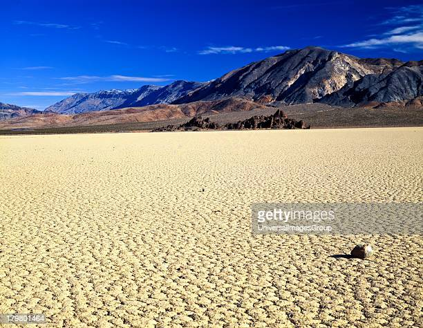 Nobody California and Nevada Death Valley National Park The Racetrack and the Grandstand in the Cottonwood Mountains of the Panamint Range