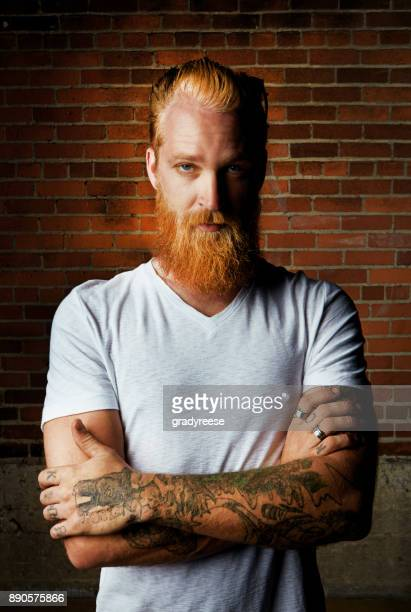 nobody does cool quite like  do - redhead stock pictures, royalty-free photos & images
