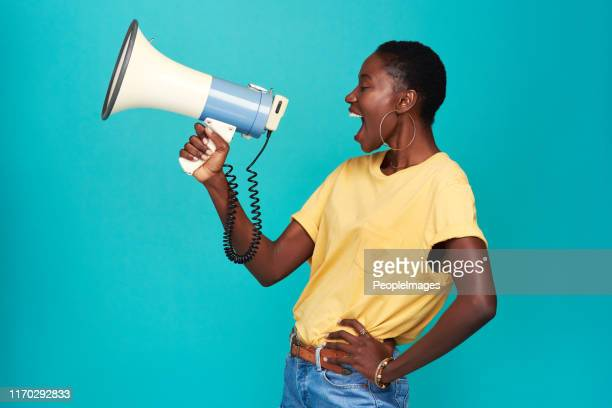 nobody else has your voice. use it - politics concept stock pictures, royalty-free photos & images