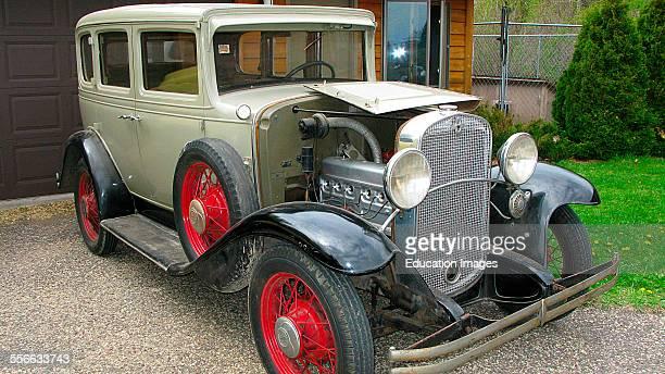Nobody North America USA Wisconsin Roberts 1930 Chevrolet Independence AE 4 Door Sedan