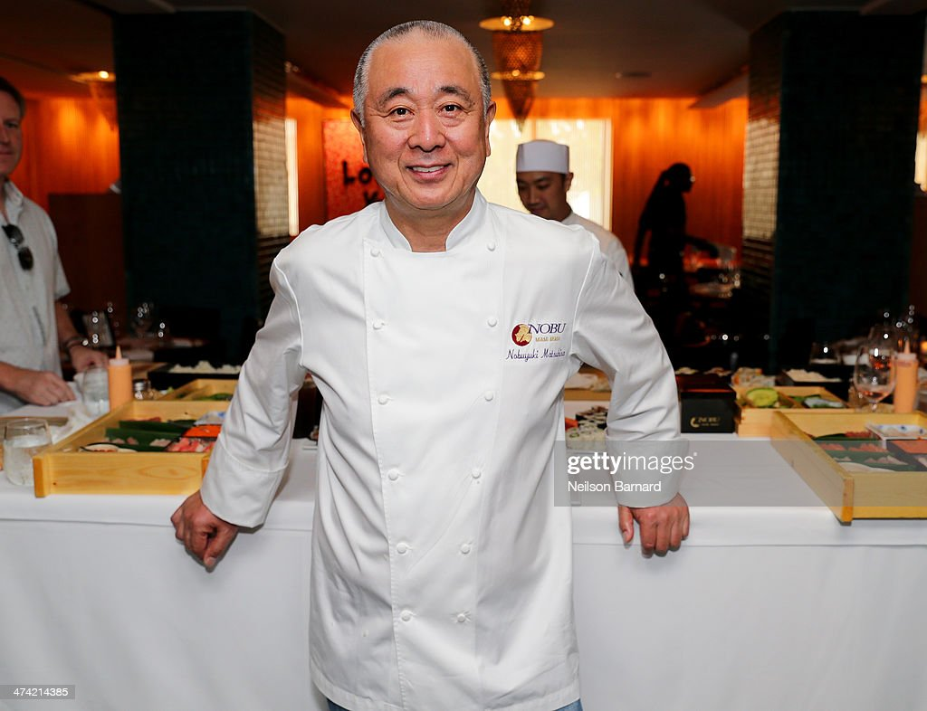Ultimate Asian Lunch Hosted By Nobu Matsuhisa & Hiroko Shimbo - Food Network South Beach Wine & Food Festival