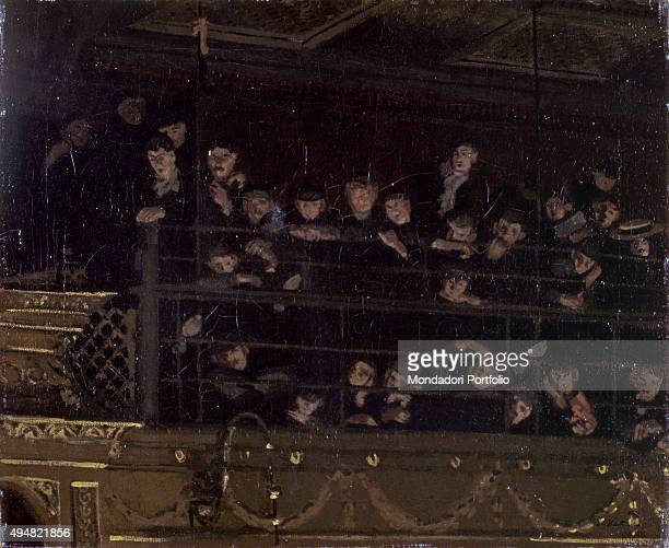 Noctes Ambrosianae or Ambrosian Nights, by Walter Richard Sickert 20th Century, oil on canvas United Kingdom, Nottingham, Nottingham City Museums and...