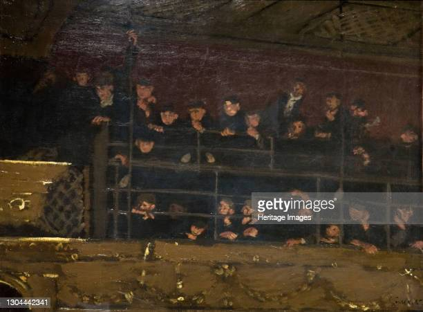 Noctes Ambrosionae , Gallery Of The Old Mogul, 1906-07. The crowded gallery at the Middlesex Music Hall, also known as the The Old Mogul Tavern,...