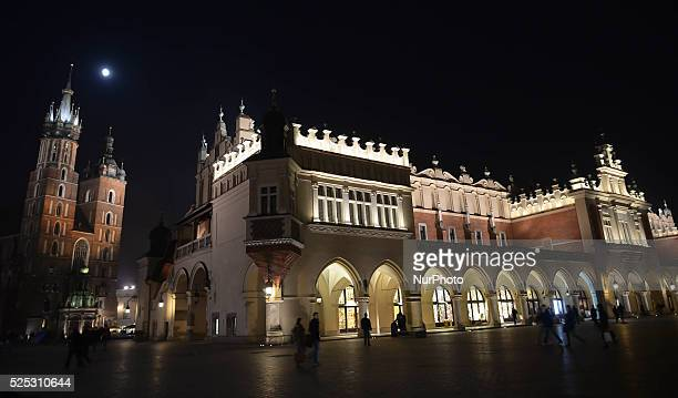 A nocturnal view of Krakow's St Mary's Basilica and The Cloth Hall According to the new survey carried out by consumer magazine Which the UK tourists...