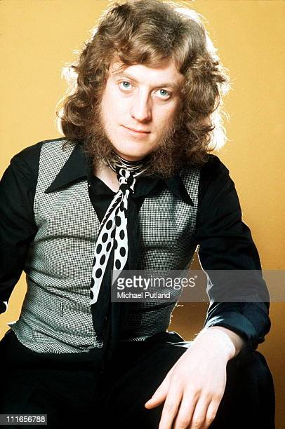 Noddy Holder of Slade portrait London 1973